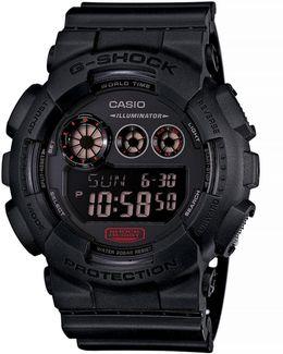 Military Black Resin Digital Watch