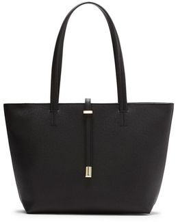 Leila Textured Small Tote