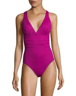 Island Goddess Multi-strap Cross-back Swimsuit