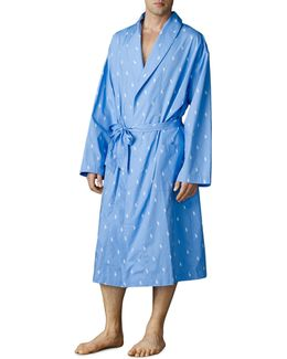 Printed Woven Sleep Robe