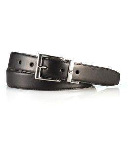 Reversible Vachetta Leather Belt