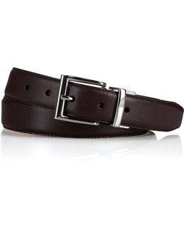 Reversible Saddle Leather Belt