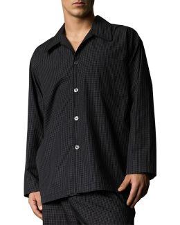 Woven Sleepwear Pj Top
