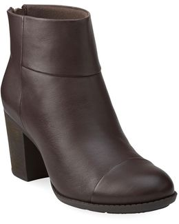 Enfield Tess Leather Ankle Boots