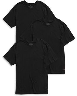 Three-pack V-neck T-shirts