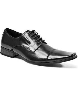 Leather Cap-toe Oxfords