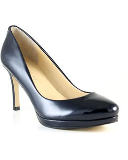 Sophia Patent Leather Platform Pumps