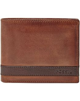 Quinn Id Bifold Leather Wallet