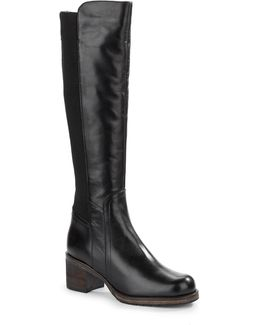 Tarra Leather Tall Boots