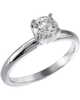 14k White Gold 0.75ct Diamond Engagement Ring