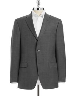 Tailored Trim-fit Suit Jacket