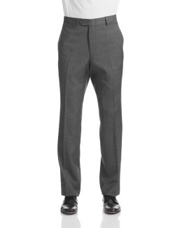 Worsted Wool Suit Pants