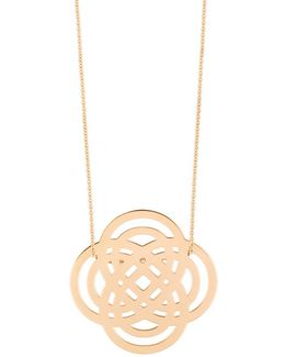 18k Rose Gold Purity Necklace