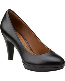 Brier Dolly Leather Pumps