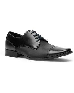 Bram Leather Vamp Derby Shoes