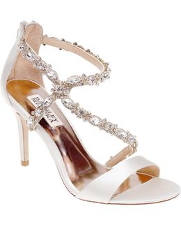 Caress Embellished Wrap Sandals