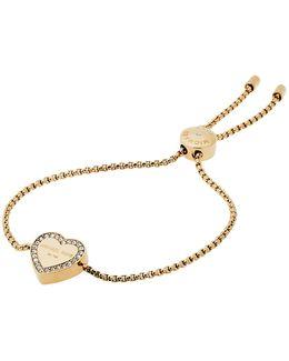 Heritage Heart Slider Bracelet