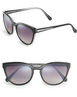 Vc672 Keyhole Cat-eye Sunglasses