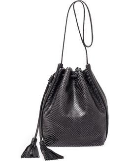 Haven Leather Bucket Bag