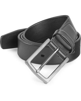 Soft Tubular Leather Belt