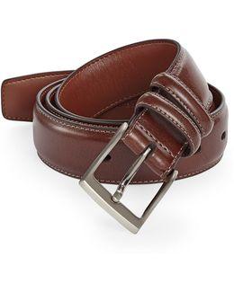Milled Leather Belt