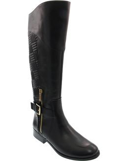 Ronna Quilted Riding Boots