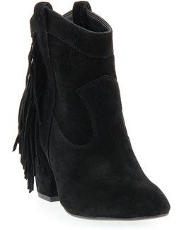 Wyoming Western Fringe Boots