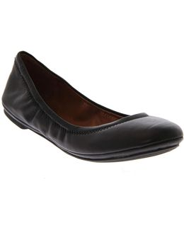 Emmie Leather Ballet Flats