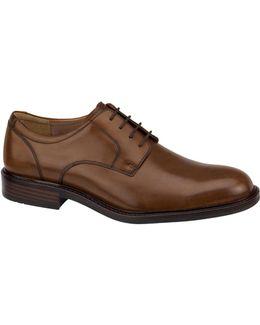 Tabor Premium Calfskin Plain-toe Oxfords