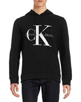 Ck Jeans Logo Hoodie