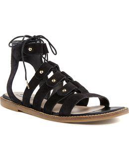 Lorelli Suede Gladiator Sandals
