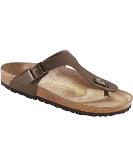 Gizeh Nubuck Thong Sandals