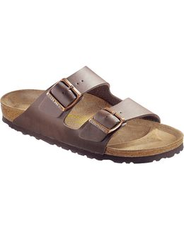 Arizona Two-strap Narrow Synthetic Sandals