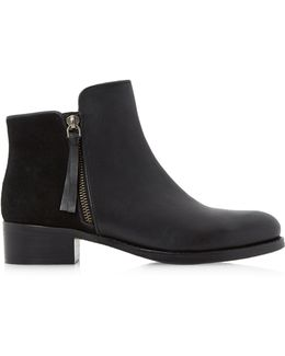 Pryme Leather Ankle Boots