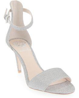 Court Woven Dress Sandals