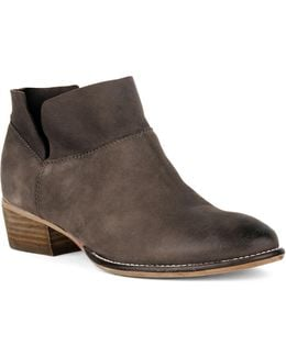 Snare Metallic Ankle Boots