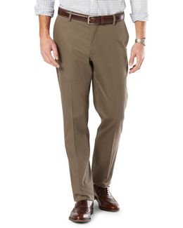 Athletic Fit Signature Khaki With Stretch