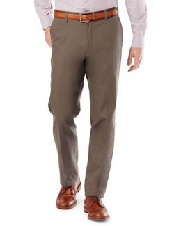 Straight Fit Signature Khaki With Stretch