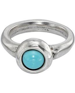 Ego Round Stone Ring