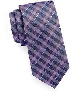 Gingham Plaid Tie