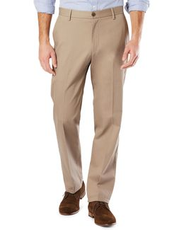 Classic Fit Signature Khaki With Stretch