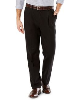 Classic-fit Signature Stretch Pleated D3 Pants