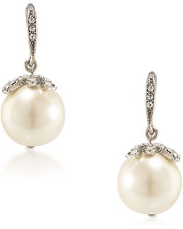 Washington Square Pearl Drop Earrings
