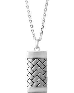 Sterling Silver Bricklayer Pendant