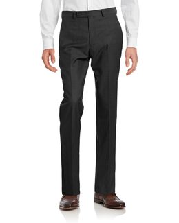 Big And Tall Slim Fit Wool Suit Pants