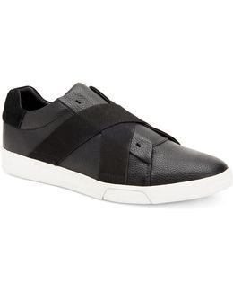 Baku Cross-strap Low-top Sneakers