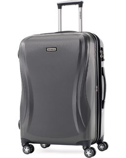 Rhapsody 28 Inch Strong Shell Large Expandable Spinner Suitcase