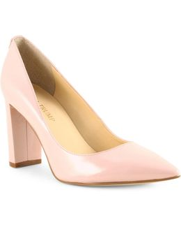 Katie Patent Pumps