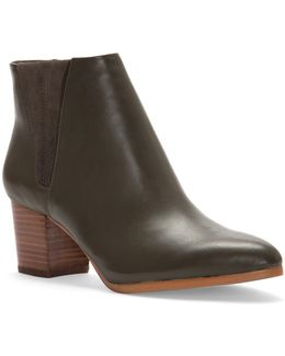 Brissa Leather Chelsea Ankle Boots