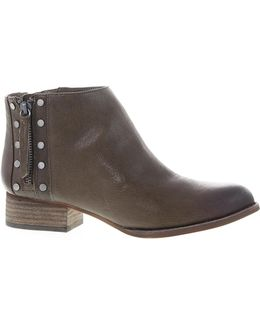 Catile Zip Ankle Boots